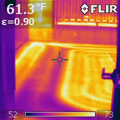 Minneapolis Home Inspector Thermal Infrared